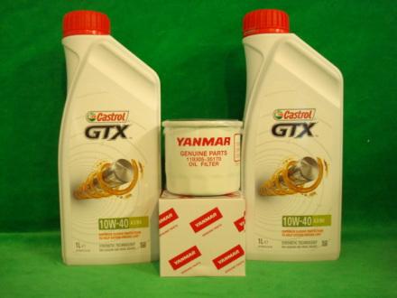 Oljefilter Yanmar original med olja